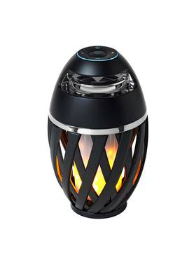 5705639930609 Colors The Flame Music - led soihtu, ladattava, bluetooth, IP65, Halo Design - Pöytävalaisimet - 181623 - 1