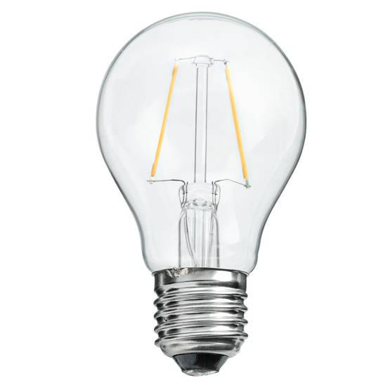 LED-polttimot yleisimpien lamppujen tilalle